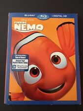 DISNEY PIXAR FINDING NEMO (BLU-RAY+DIGITAL HD) NO SLIP COVER NEW