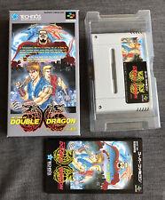 Return Of Double Dragon - Nintendo Super Famicom SFC - NTSC-J Japan - Complete