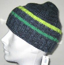 New babyGap Size S/M (18 inches circumference) Navy Blue Cable Knit Beanie Hat