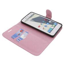 Funda para ZTE Blade L3 Book Style protectora Teléfono móvil estilo libro ROSA