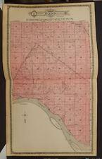 South Dakota Charles Mix County Map Jackson Township 1912 Dbl Pg K13#22