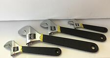 """Adjustable Wrench Set 4 pc 6"""", 8"""", 10"""",and 12"""""""