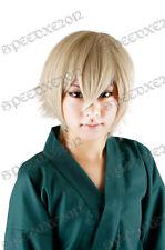 Anime Bleach XII Urahara Kisuke Cosplay Wig Party Short Unisex Hair