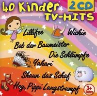 40 KINDER TV-HITS 2 CD NEU