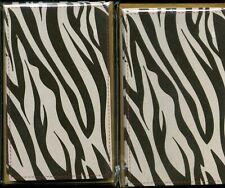 set of 16 Factory Sealed Zebra Print Notecards with Envelopes Michaels NIB