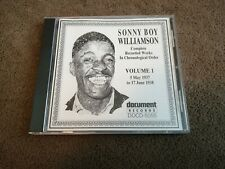 Sonny Boy Williamson - Complete Recorded Works Vol 1 (1937-38) - CD (1991) Blues
