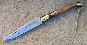 Ancien Couteau Laguiole 2 Pièces Rossignol Avec Ancre de marine knife messer
