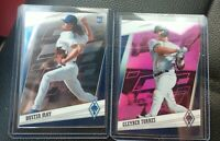 Gleyber Torres 2020 Chronicles Phoenix /25 Pink & Dustin May RC