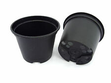 50x Pflanztöpfe 9cm Blumentöpfe Töpfe Anzuchttöpfe Grow Anzucht Container PPs