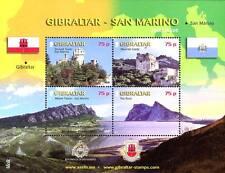2010 San Marino congiunta con Gibilterra amicizia ** MNH