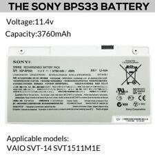 Genuine Laptop Battery SONY VGP BPS33 48Wh for SONY  VAIO SVT-14 SVT1511M1E