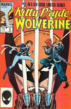 Kitty Pryde and Wolverine #5 - Marvel Comics, March 1985 - intro of Shadowcat