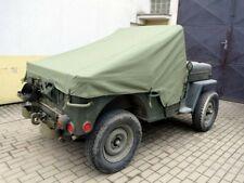Willys Jeep CJ-3B, Standverdeck, Parkverdeck, Regenschutz