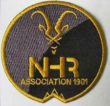 Badge écusson tissu 75mm Association NHR Notre Histoire Retrouvée