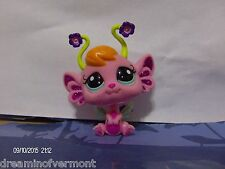 Littlest Pet Shop Pink Fairy with Light Blue Eyes #2614