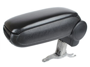 ARMREST + ASSEMBLY SET BLACK ECO LEATHER FOR AUDI A6 C5 97-04