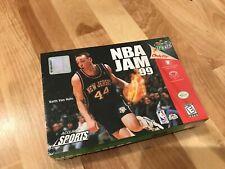 NBA Jam 99 (Nintendo 64, 1998) Brand New Sealed