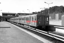 PHOTO  OSLO TRAIN 1988 OS SKULLERUD METRO TRAIN WITH 1144