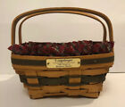 Vintage Longaberger 1993 Bayberry Basket Christmas Collection Combo