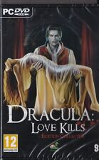 JEU PC CD-ROM DRACULA LOVE KILLS PUZZLES AVENTURE WINDOWS XP VISTA 7