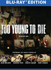TOO YOUNG TO DIE: SEASON ONE (Heath Ledger) - BLU RAY - Region Free - Sealed