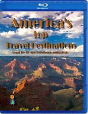 AMERICA'S TOP TRAVEL DESTINATIONS TRAVEL US AMERICAN vacation blu-ray dvd