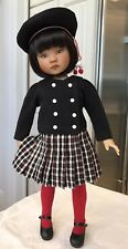 "33cm Boneka Dianna Effner Little Darling 13"" Doll School Dress + Beret Last 1"