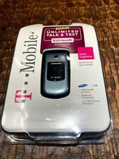 New T-Mobile Samsung SGH-T139 Basic Flip Cell PHone