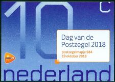NEDERLAND: PZM 584 DAG VAN DE POSTZEGEL.