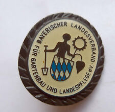Anstecknadel --Bayerischer Landesverband für Gartenpflege--