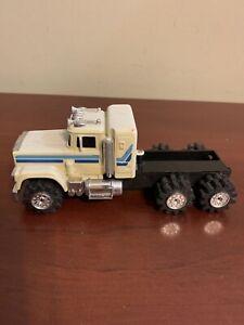 Vintage (mid-80s) Schaper Stomper Semi WHITE MACK Truck