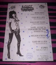 AMPHETAMINE REPTILE RECORDS. 1989 Promo poster A3. Boss Hog. EX.