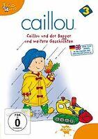 Caillou 03 - Caillou und der Bagger und weitere Geschicht... | DVD | Zustand gut