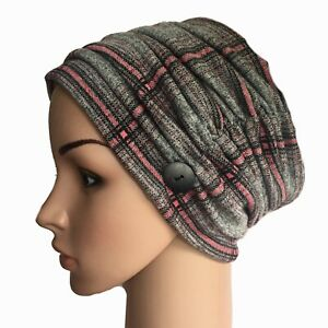 HEADWEAR FOR HAIR LOSS, OUTDOOR STYLISH LINED HAT,CHEMO, ALOPECIA, CANCER