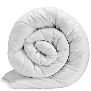 Luxury Duvet 15 TOG Heavy Weight Hollowfibre Filling Cotton Cover Winter Duvet