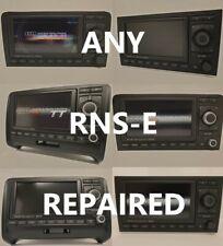 Audi Navegación Plus RNS-E RNSE A3 A4 TT A6 R8 LCD y LED reparaciones y actualizaciones