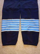 PITTSBURGH PENGUINS Reebok Blue Navy 3rd XL+ BRAND NEW Pro Hockey Socks