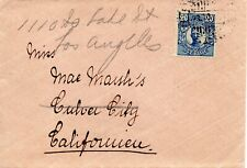 More details for 1910's sweden cover from stockholm to california usa (redirected)