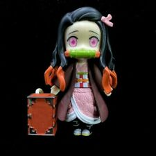 Anime Demon Slayer: Kamado Nezuko Movable PVC Figure New No Box 9cm