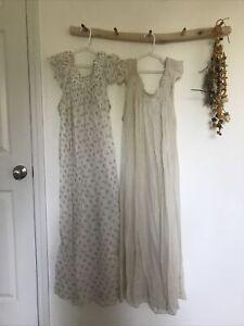 2 Doen Lovisa Nightgowns Small Defective