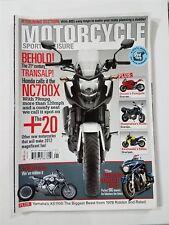 Motorcycle Sport & Leisure 2012 Ducati Panigale - Kawasaki ER6n - Honda NC700Z