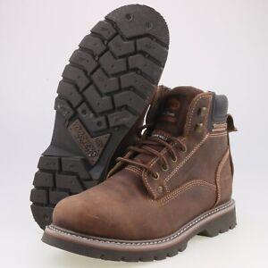 0502-Dockers Herren Stiefel Boots Gr 42 Braun getragen