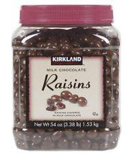 Kirkland Chocolate Covered Raisins candy 54 oz Fresh