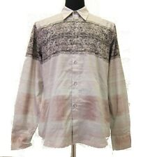R-A405990 New Marni Multi-Colored Printed Long Sleeve Shirt Size US 48