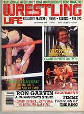 WRESTLING LIFE #4 DECEMBER 1988 RODDY PIPER RON GARVIN ULTIMATE WARRIOR WWE WWF