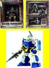 Sunrise VOTOM Mecha Blue Knight Berserker Robot Figure .