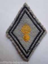 Insigne Losange tissu modèle 1945 Patch  -  MATERIEL centre jaune France