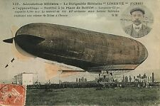 CARTE POSTALE AVIATION / AEROSTATION MILITAIRE LIBERTE JUCHMES A L'APPAREILLAGE