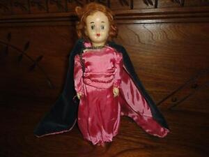 Antique Doll Handpainted Unknown Origin