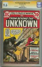 FROM BEYOND THE UNKNOWN #23 SS CGC 9.6 SIGNED NICK CARDY